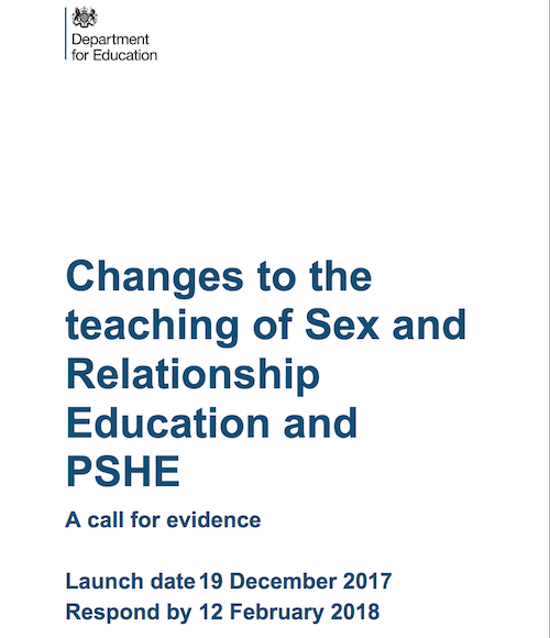 RSE Adult call for evidence