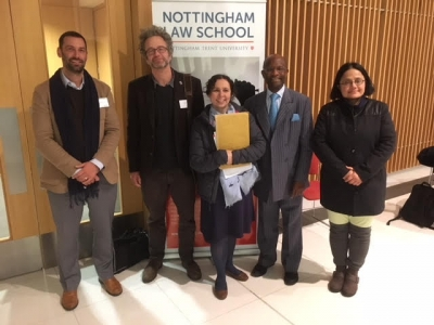 Left to Right: Professor Zachary Calo, Professor Tom Lewis, Reverend Dr Helena Hall, Pastor Dr Brighton Kavaloh, Dr Sana Khan Khurshid